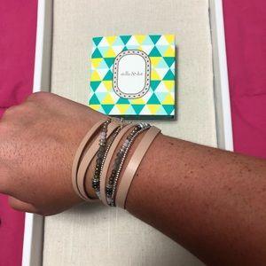 Yves Wrap Bracelet- Blush